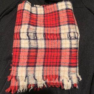 Madewell Accessories - Madewell Nightglen Plaid Wool Scarf
